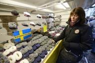 fårskinnstofflor ett givet köp på Haga julmarknad...