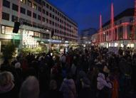 """sjungande julgranen vid """"Kopparmärra""""..."""