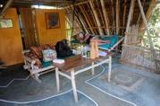 vila i bungalowen efter snorklingen...
