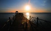 hemma vid solnedgången på Zanzibar...