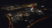 flyg över Stockholm...