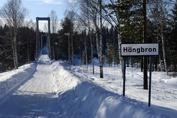 Hängbron över Luleåälven...