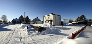 Kurre's hus i Svartbjörnsbyn...
