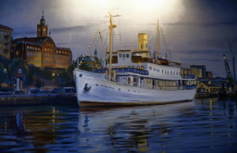 bluesbåten SS Marieholm...