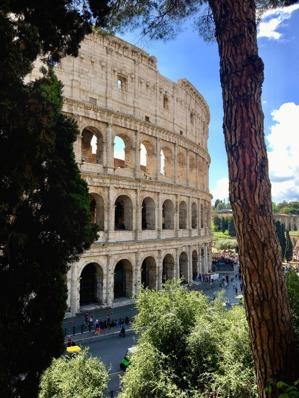 Colosseum ur nosen vinkel... foto Carina...