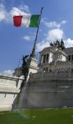 italienska flaggan...
