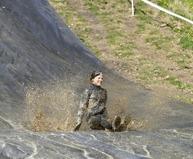 jag älskar lera i mitt ansikte......