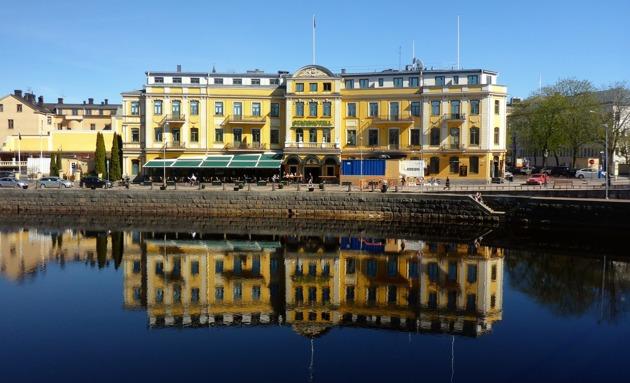 här bodde vi tryggt i Karlstad...