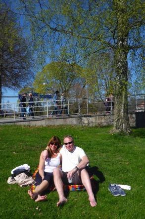 solen lyser alltid i Karlstad...