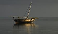 ensam båt...
