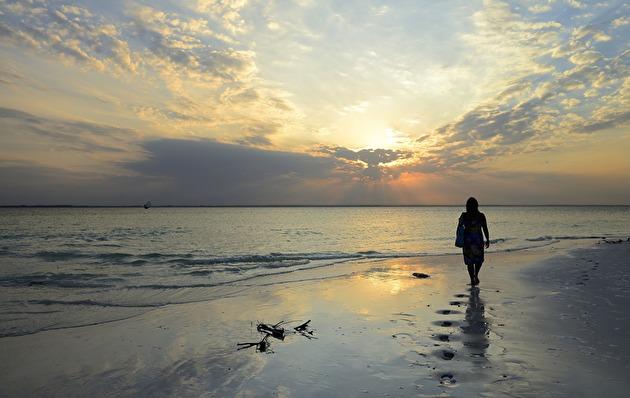 Sunset Beach, bästa stranden på Zanzibar om ni frågar mig...