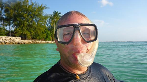 snorkelkungen på Zanzibar...