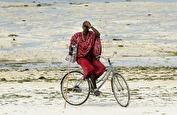en cyklande turistfälla...