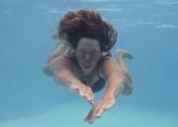 ett undervattenslejon...