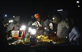 matmarknaden i Forodhani Park...