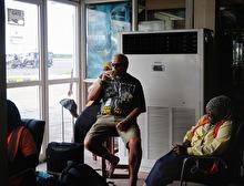 sista Safari ölen vid AC-anläggningen...