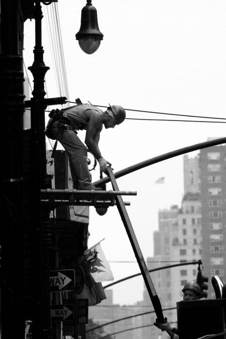 Byggnadsarbetare New York