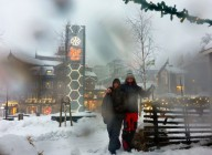 full snöstorm dagen innan julafton...