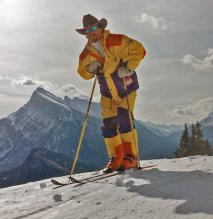 En cowboy med attityd i Canada 1997