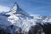 Zermattdalen med Matterhorn