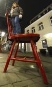 väldigt vad stora stolar dom har här i Helsingborg...