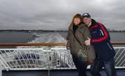 """vi har tur som har varandra när vi  """"turar"""" mellan Helsingborg och Helsingör..."""