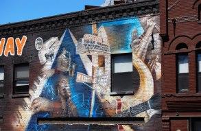 Väggmålning Harlem