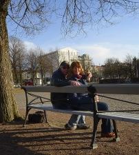 """""""förfest"""" i Bältespännarparken..."""