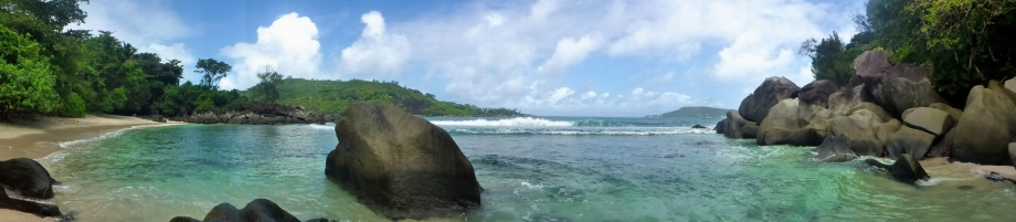 denna lilla Keele-Wee strand hittade vi tredje dagen... Port la Unay...