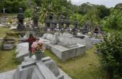 fina kyrkogårdar har dom på ön...