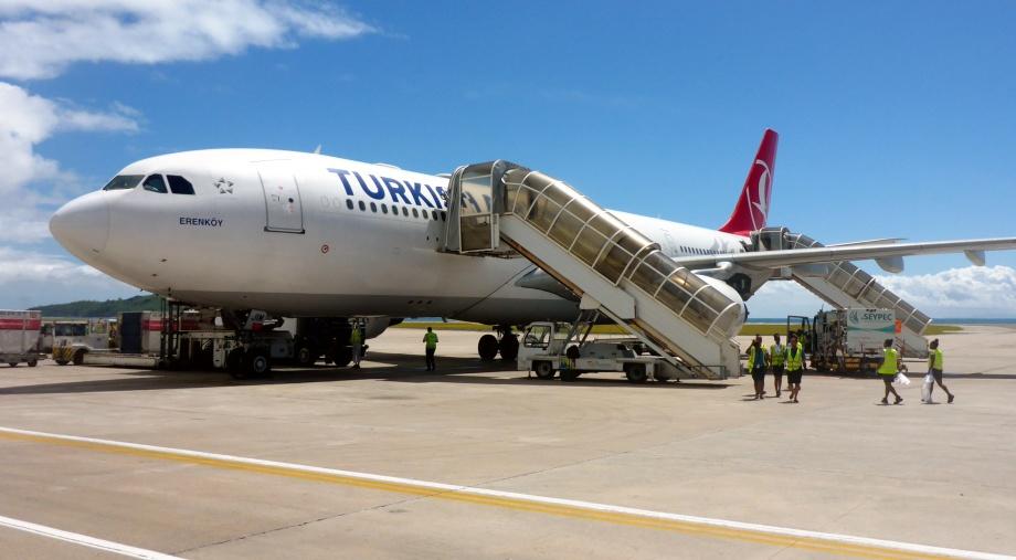 vi tackar flygplanet Erenköy och deras personal att vi nådde målet...