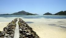 skön strand...