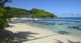 Anse Takamaka beach... något överskattad...