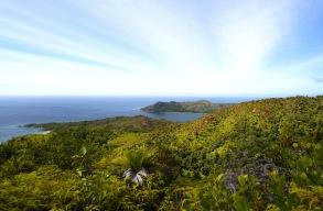 utsikt från Zimbabwe Point...