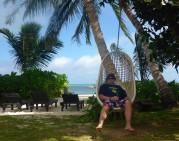 ett hav, en skön stol samt en öl vad mer kan en man begära...