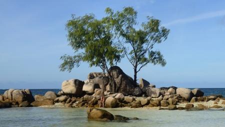 skönt att sitta på en egen ö med sina tankar om livet...