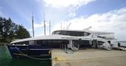 båten till Praslin...