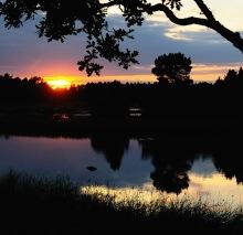 Gunnarsö solnedgång