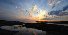 Solnedgång Hönö Ersdalen