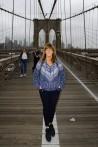 nu kan jag sätta ett kryss för att jag gått över Brooklyn Bridge...
