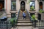 vila på en trappa i Brooklyn...