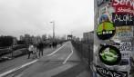 början på bron, Brooklynsidan...