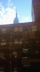 vi hade i.a.f. utsikt mot Empire State Building...