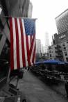 NY är lite av hela världen men de håller på sin flagga...