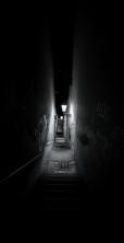 mörka trappor...