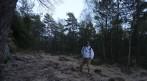 en man ... en skog... en Rönnbäck...