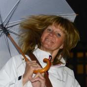 full storm i Cracow...