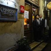 italiensk Gudfader restaurang, jag tyckte det var gött men nosen inte så nöjd...