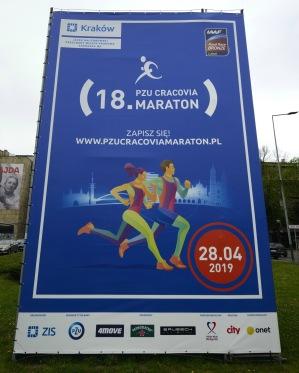 denna helgen var det maraton i Krakow, kul...