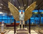 jaa, på Singapore flygplats...